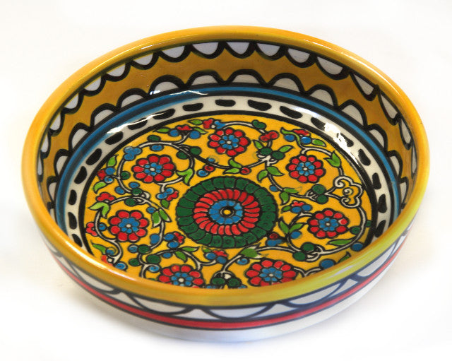 Shallow Bowl (small) - Yellow