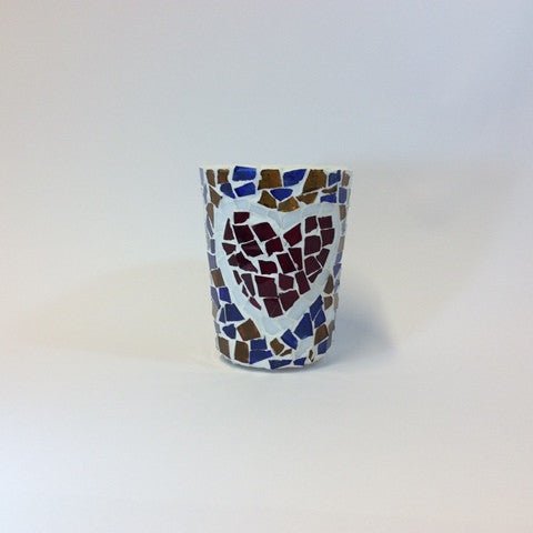 Tea Light Holder (cup) - Intimacy Heart Design