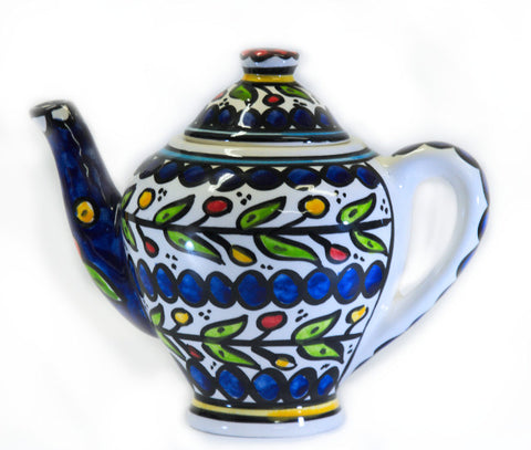 Tea Pot - Blue