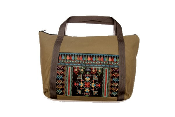 Embroidered Travel Bag