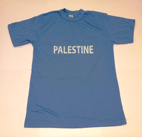 T-shirt 'Palestine' (blue)