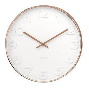 Wall Clock Mr White Copper Case