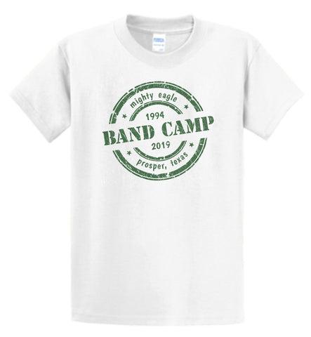 Cotton 2019-2020 Band Camp Years - Tee/Long Sleeve