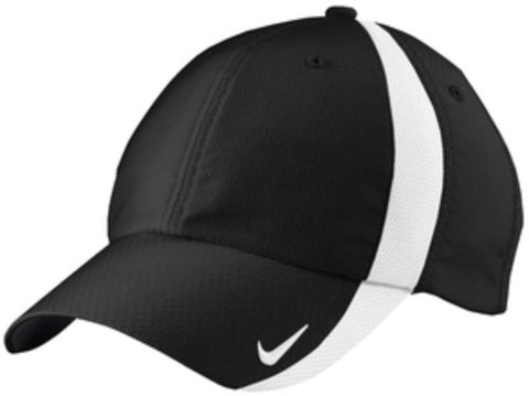 HN - Nike Hat - Black or White with Logo Choice