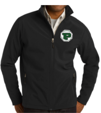 Soft Shell Band Jacket with Embroidered Logo