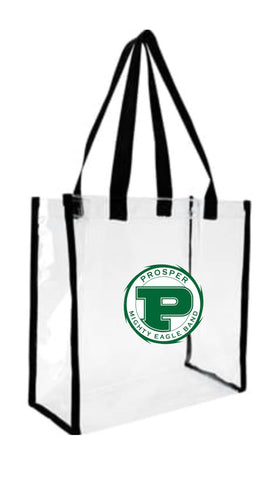 Stadium Bags (Clear) with Band Logo