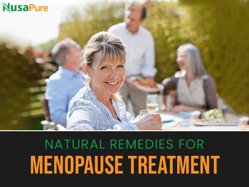 Natural Remedies for Menopause Treatment
