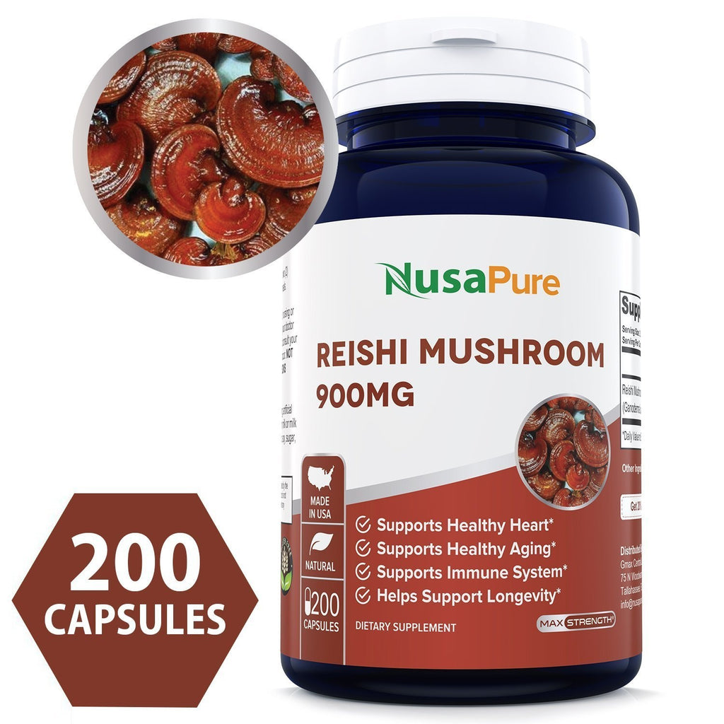 Reduce Clinical Fatigue By Adding Reishi Mushroom Supplement To Your Diet