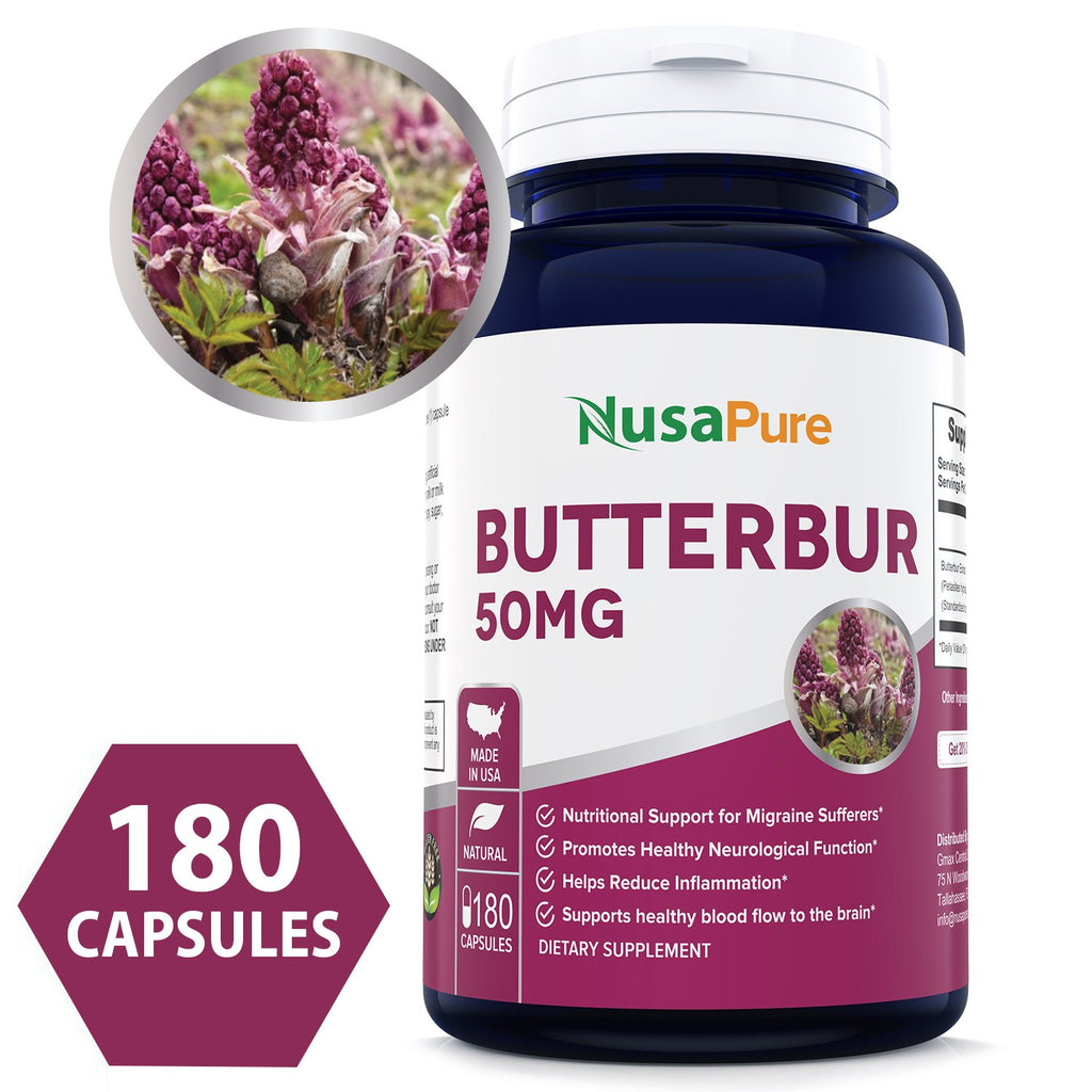 Say Goodbye To Aching Head By Having Natural Butterbur Supplements