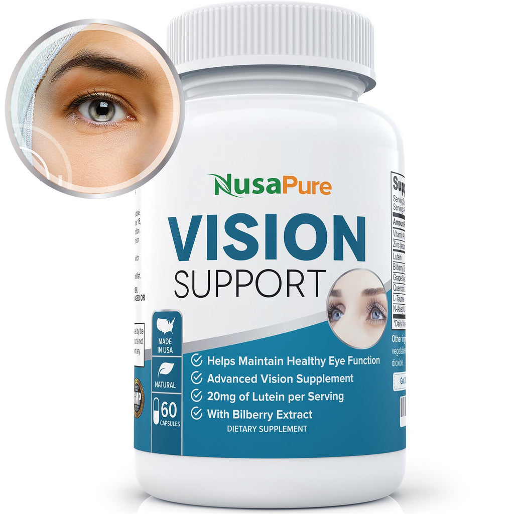 Keep Your Vision Sharp With Herbal Eye Health Supplements