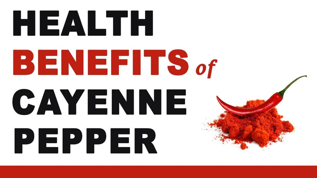 Health Benefits of Cayenne Pepper Capsules