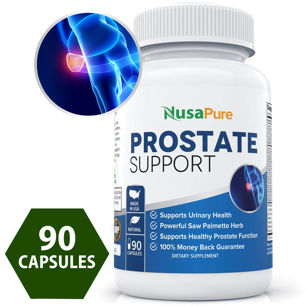 Potent Prostate Support Saw Palmetto Supplement: Supports Healthy Prostate Function and Urinary Health, the Best for Your Prostate and Urinary Health: