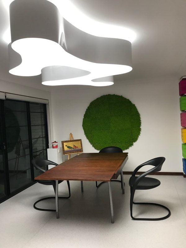 FRENCH CURVE ACRYLIC LED PENDANT