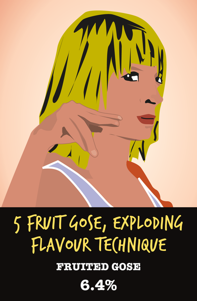 5 FRUIT GOSE, EXPLODING FRUIT TECHNIQUE
