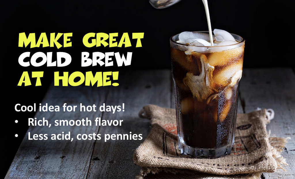 Make Cold Brew with a French Press