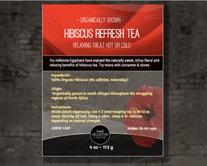 Hibiscus Refresh Tea