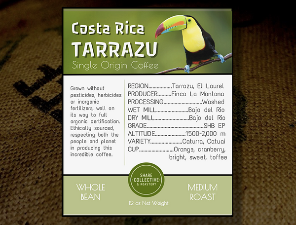 Costa Rica Tarrazu Medium