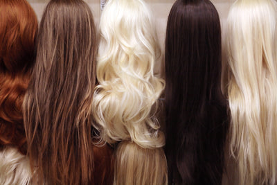 Different types of hair