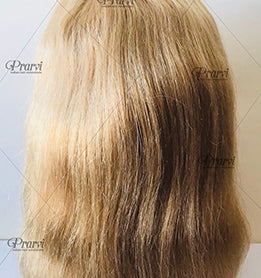Front Lace Wig - Natural Wave - Color #27/Honey Blonde/Ash Blonde