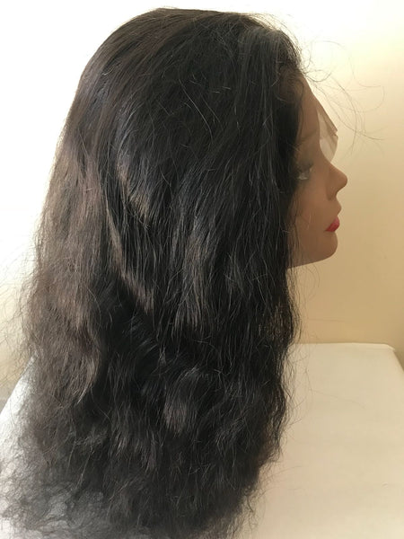 Front Lace Wig-Natural Wavy