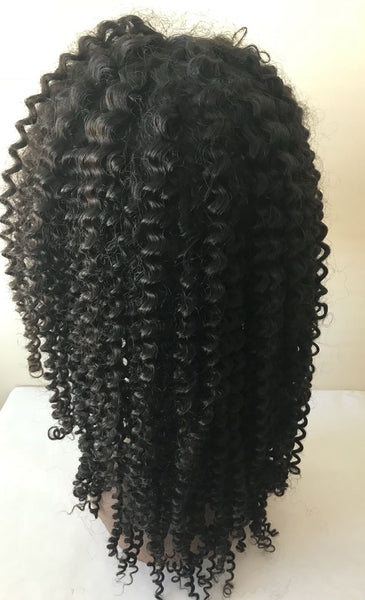 Front Lace Wigs - Full Curls