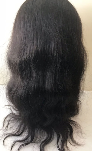 Front Lace Wig-Natural Wavy(Net Base)
