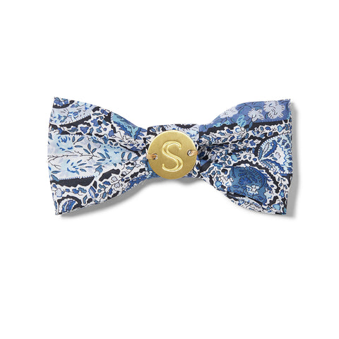 Liberty Bow Tie - Paisley Blue