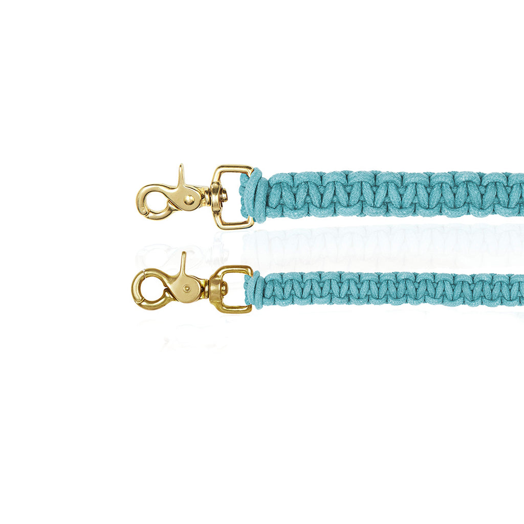 Macramé Originals Dog Lead - Blue