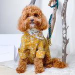 Liberty Dog Shirt - Mustard