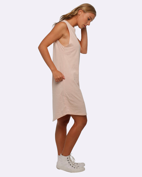 Tank Dress - Hustle - Blush