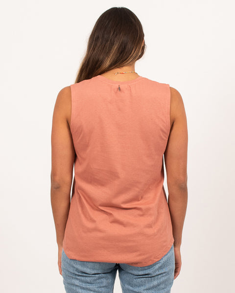 Folksong Tank Washed Terracotta