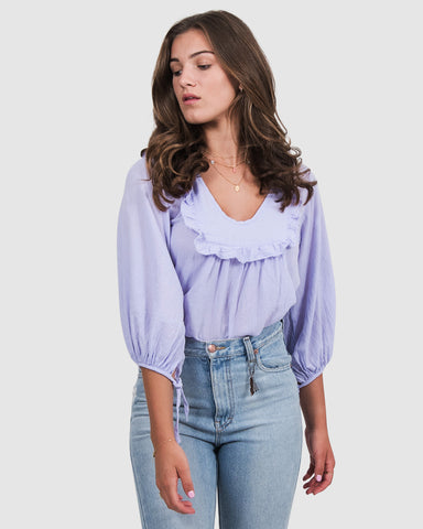 Billie Top in Lilac