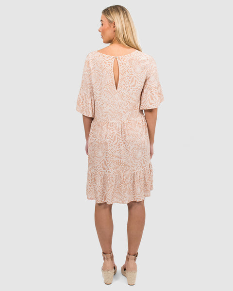 Maggie Dress in Sand