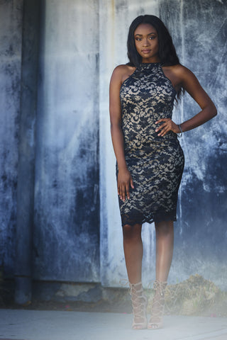 Classified- Black Lace Dress