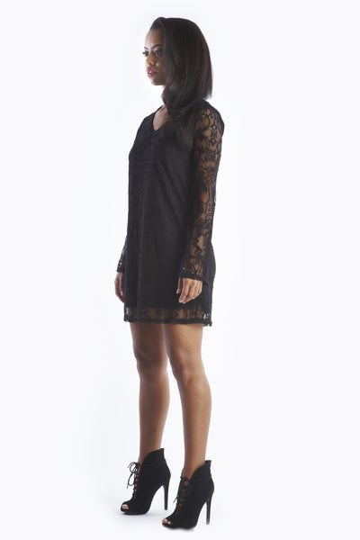 Dirty Dancing - Black Lace Dress
