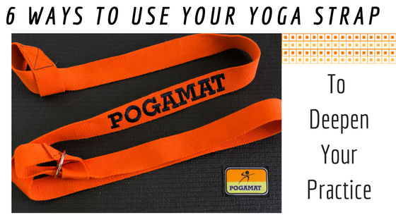 6 Ways to Use Your Yoga Strap to Deepen Your Practice