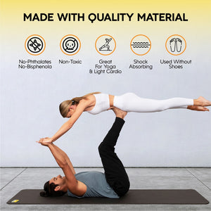 "84"" x 27"" x 8mm XL Yoga Mat"