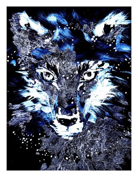 Wild animals pape print by Ana Kuni