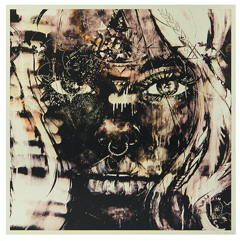 Ana Kuni metal art print from KUNIFRANK season 2 exhibition in Cape Town and Sweden