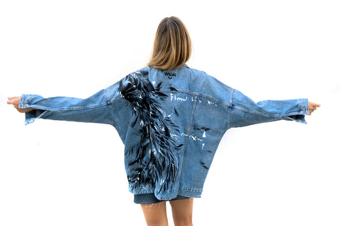 Ana Kuni Art on Denim