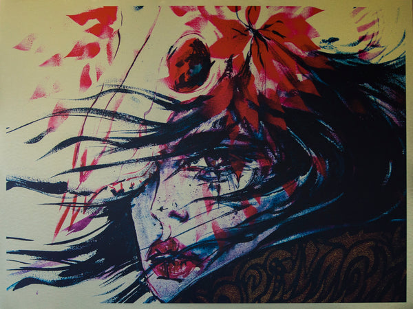 Limited edition art by Ukrainian artist Ana Kuni
