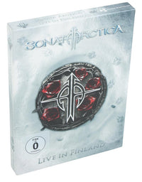 Sonata Arctica, Live in Finland, 2DVD + 2CD