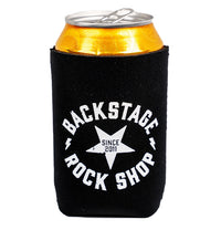Backstage Rock Shop Star Logo Can Cooler
