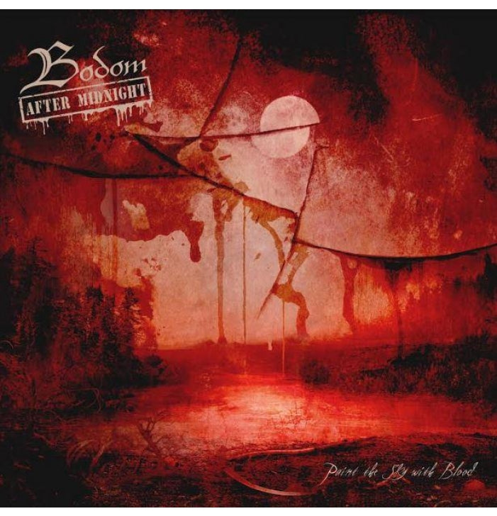 """Bodom After Midnight, Paint the Sky with Blood, 10"""" Vinyl - Backstage Rock  Shop"""