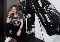 Dark Grey Backstage Rock Shop Women's Premium T-shirt