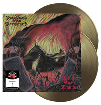 Darkwoods My Betrothed, Autumn Roars Thunder, Ltd Numbered Gold 2LP Vinyl