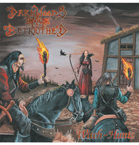 Darkwoods My Betrothed, Witch-Hunts, Musta Vinyyli