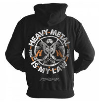 Helloween, Heavy Metal Law, Zip Hoodie