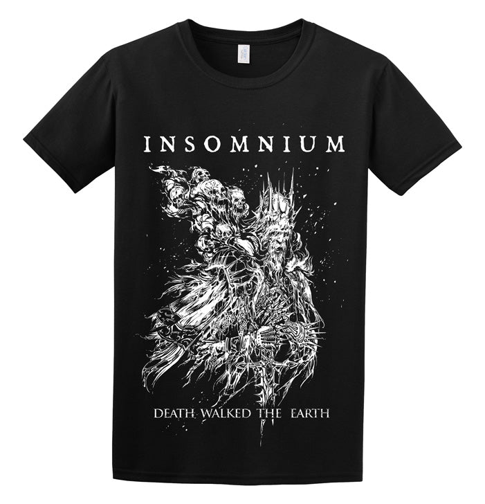 Insomnium, Death Walked The Earth, T-Shirt - Backstage Rock Shop