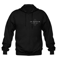 Insomnium, Heart Like a Grave, Men's Zip Hoodie